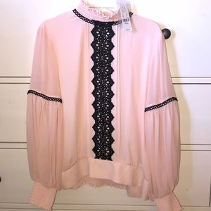 Blush pink Blouse from NY and Company